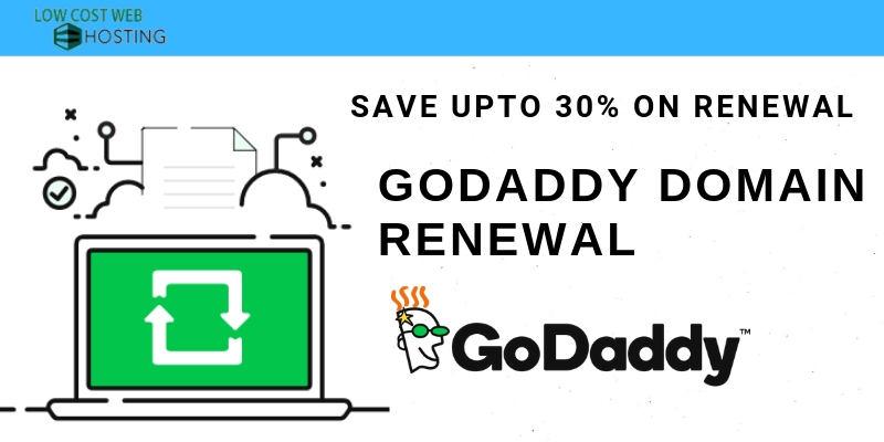 Godaddy Renewal Coupons