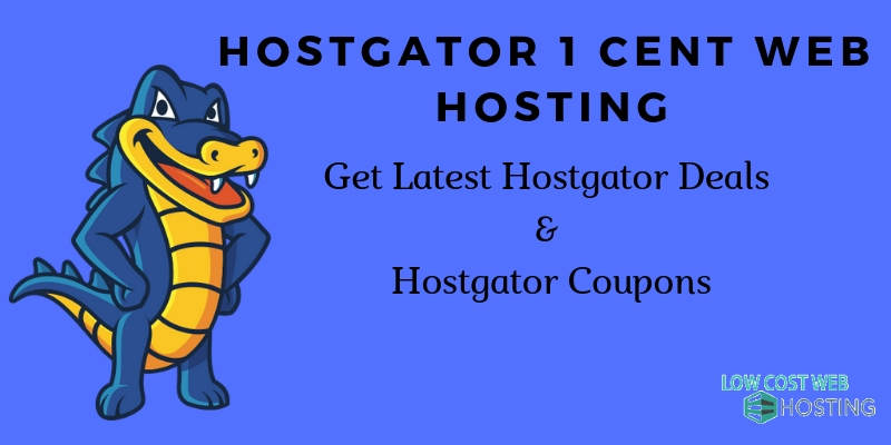 Hostgator 1 Cent Web Hosting