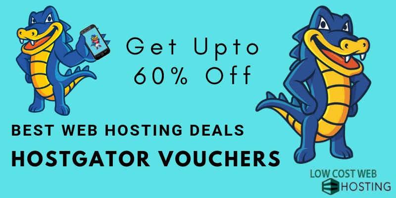 Hostgator Web Hosting Vouchers