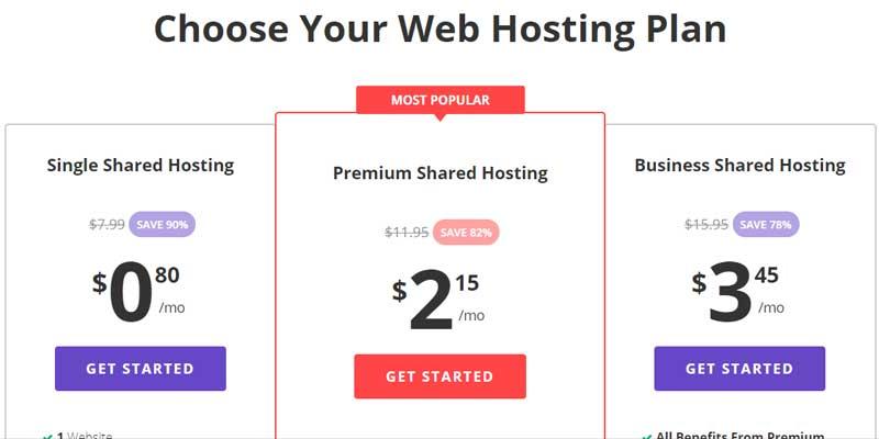 Hostinger Low Cost Hosting