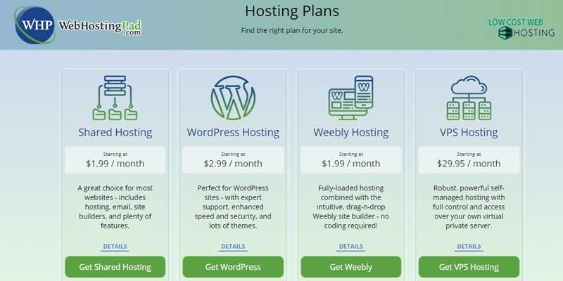 Webhostingpad deals