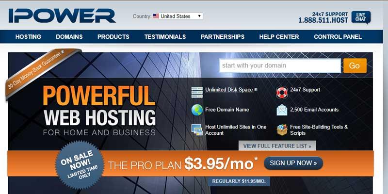 iPower Hosting Deals