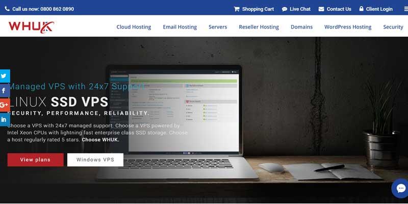 Webhosting UK Managed VPS hosting deal