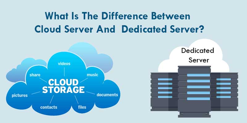 difference between cloud hosting and dedicated server